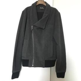 Religion jacket men charcoal grey size S