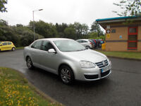VOLKSWAGEN JETTA 1.6 SE STUNNING SILVER NEW SHAPE 2007 ONLY 82K MILES BARGAIN £1795 *LOOK*PX/DELIVER