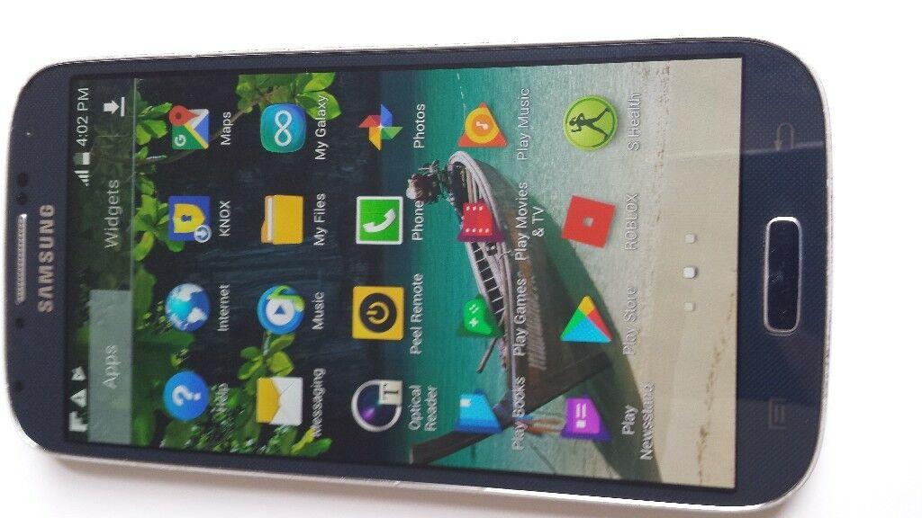 Samsung Galaxy S4 unlockedin Derby, DerbyshireGumtree - Samsung Galaxy S4 mobile phone unlocked to all networks fully working cracked screen
