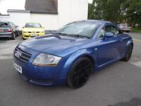 AUDI TT 1.8T 225 QUATTRO~54/2004~6 SPEED MANUAL~225 BHP~4WD~STUNNING BLUE~74k !!