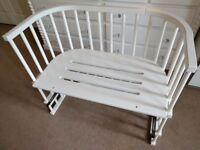 Babybay bedside cot