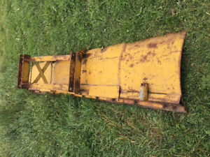 Large heavy duty tractor blade
