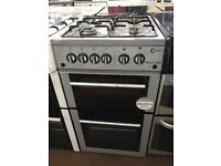 50CM SILVER FLAVEL GAS COOKER