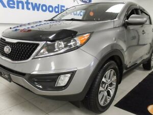 2015 Kia Sportage LX manual with heated front seat! She's a true