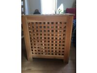 Walnut Laundry Basket for sale in North London