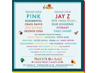 V Festival 2 Tickets for sale, Full Weekend Tickets with Red Camping, Hylands Park, Chelmsford