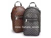 Mens Backpack Shoulder Bag Louis Vuitton Rucksack Handbag Lv Good Quality