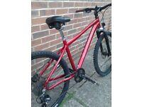 "Marin hydrolight lightweight 17"" bicycle"