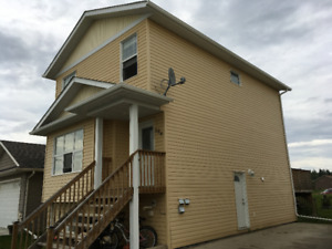 House for rent in Cold Lake north includes utilities