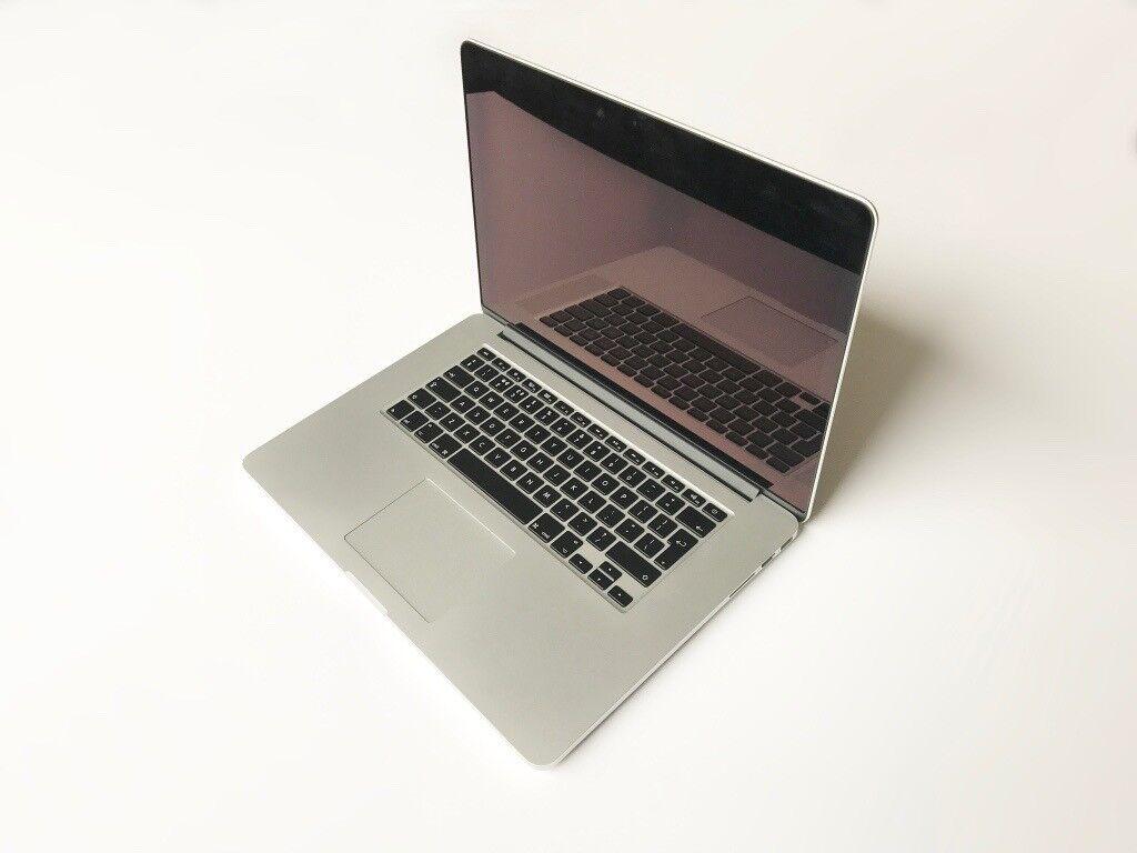 """MacBook Pro Retina (Mid 2014) 15"""", 2.5Ghz i7 Quad Core, 16GB RAM, 512GB, SSD, Nvidia GT 750M"""