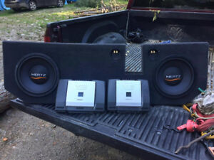 Subs/Amps/Sub Box