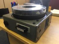 Kodak Carousel S-AV slide projector.