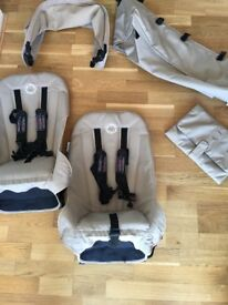 Bugaboo Donkey Duo and accessories