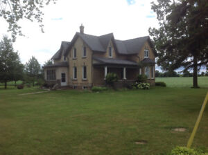 Century Home on 99 acre farm
