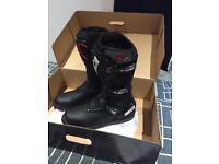 Sidi motorbike boots size 11