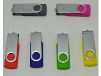 USB 2.0 Flash Drive/External Drive for Laptops and PCs Brand New with Retail Packaging Lot of 100