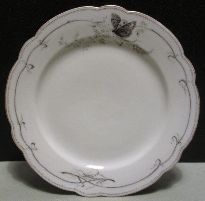 Pair of plates, both good condition.