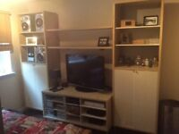 Ikea Display and storeage units with tv bench