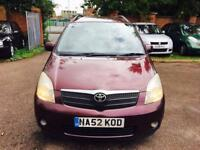 TOYOTA Corolla verso diesel great family car 649 Ono