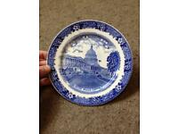 Washington plate