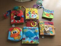 Washable babies books with gummies
