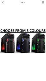 RAPID FAST GAMEMAX PC WINDOWS 10 E7500 @ 2.93GHz 4GB 160GB WIFI