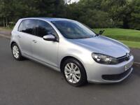 2011/61 VW GOLF TDI 140 BHP BLUETECH £30 YEAR TAX *FVWSH* x2 keys BARGAIN passat Jetta