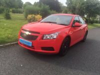Chevrolet Cruze edit 1.6 i S 4dr+1Year Mot+very low mileage warranted+12MW