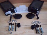 Rizoma motorbike bar end mirrors SPY R 80 pair