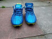 ASICS Gel Lethal Tigreor SK 8 Mens football/rugby boots size 7.5 (UK) / 42 (EURO)
