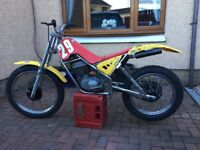 Trials bike rtx212.