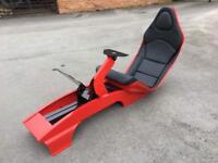 F1 play seat racing simulator