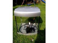 Small starter Aquarium aqua 40 tank with pump in good condtition