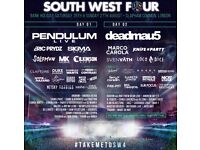 SW4 Saturday Ticket 26/08/17 - For Sale