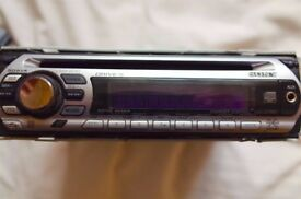 Sony CDX-GT310 STEREO. CD Receiver/MP3 Player/MP3 In Dash Receiver