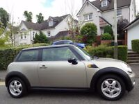 (2007) MINI COOPER AUTOMATIC NEW MODEL 1 LADY OWNER/ONLY 50K MILES/FSH/SILVER+BLACK/VERY SCARCE AUTO