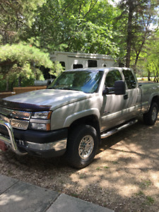 2005 CHEVROLET SILVERADO 2500HD EXT CAB