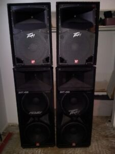 DJ gear for sale Speakers, amps, Lights, records,CDs,cables.