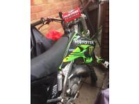 KX 125cc, Motorcross bike
