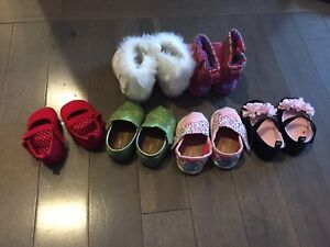 Toms and Gymboree shoes