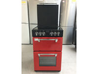 Refurbished Stoves RICHMOND550E Electric Cooker with Ceramic Hob - Jalapeno #R362261