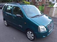 Súzuki wagon R 1.3 2003 03 Reg mpv Agila meriva excellent car £395 NO OFFERS look now!!