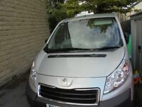 peugeot expert low mileage in very good condition