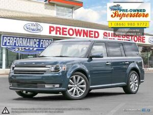 2016 Ford Flex Limited>>>CAP UNIT w/DVD & Adaptive Cruise<<<