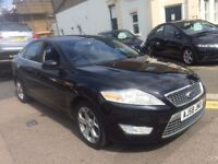 FORD MONDEO TITANIUM 2.0 DIESEL 2008 (58) BLACK FULL SERVICE HISTORY 7 STAMPS IN BOOK HPI CLEAR