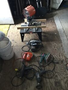 MOVING SALE - Assorted Tools (See below)