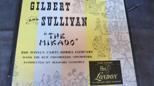 "Gilbert and Sullivan ""The Mikado"" record"