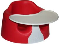 Baby bumbo chair with tray