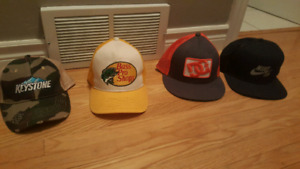Hats that I don't wear