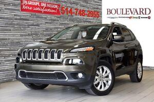 2015 Jeep Cherokee, LIMITED, AWD TOUT ÉQUIPÉ!!